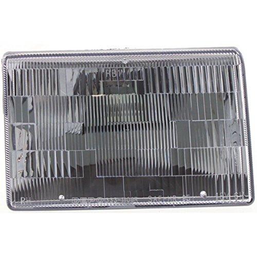 Diften 114-A2565-X01 - CAPA Headlight Driving Head light Headlamp Passenger Right Side RH Hand Jeep
