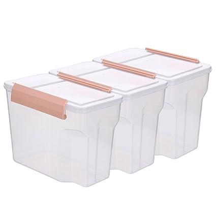 Muebles de cocina Bandejas transparentes de sellado de cocina Caja de almacenamiento para refrigerador de alimentos