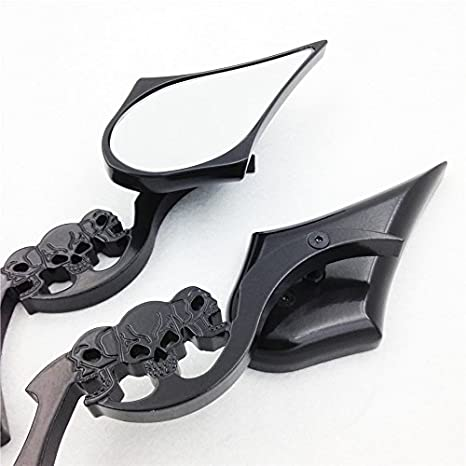Amazon.com: XKH- Replacement of Motorcycle Black Skull Blade ...