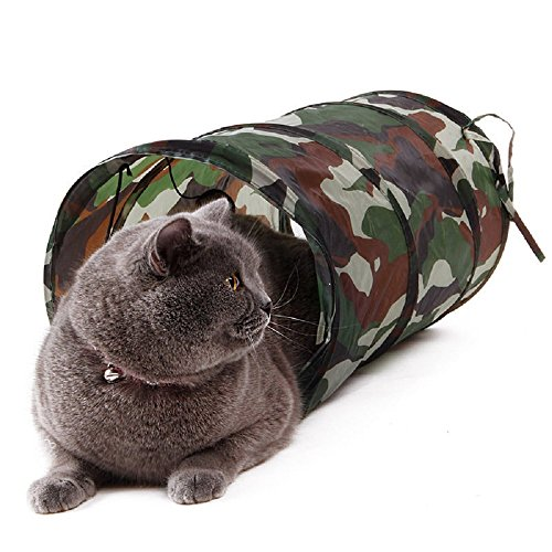 Breezes Bone China (Nut Shop Pet Cat Kitten Tunnel Toys Tunnel Crinkle Small Cat Tube Portable Toys 50x25cm)