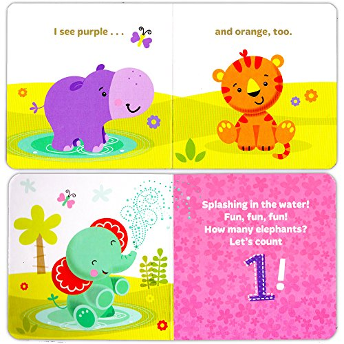 Fisher-Price ''My First Books Set of 4 Baby Toddler Board Books (ABC Book, Colors Book, Numbers Book, Opposites Book) by Fisher-Price (Image #2)
