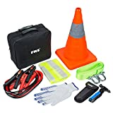 FMS Basic Emergency Roadside Assistance Kit 9 Pieces Emergency Supplies Tool Kit