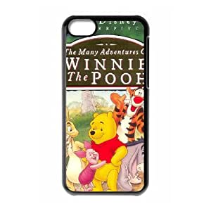 iPhone 5c Cell Phone Case Covers Black Many Adventures of Winnie the Pooh Mcfmx