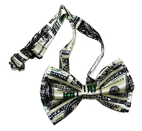 Ted and Jack - Show Your Style Novelty Themed Bowtie (Dollar Bills) (Best Bow For The Money)