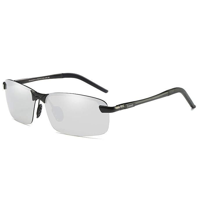 LZXC Hombres Conducir Conducir Gafas Polarizadas Conducir Gafas Conducir Gafas Primavera Bisagra Gafas Deporte Al aire