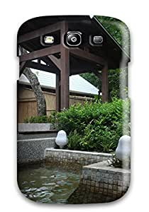 Scratch-free Phone Case For Galaxy S3- Retail Packaging - Japanese Architecture 7626741K47046378