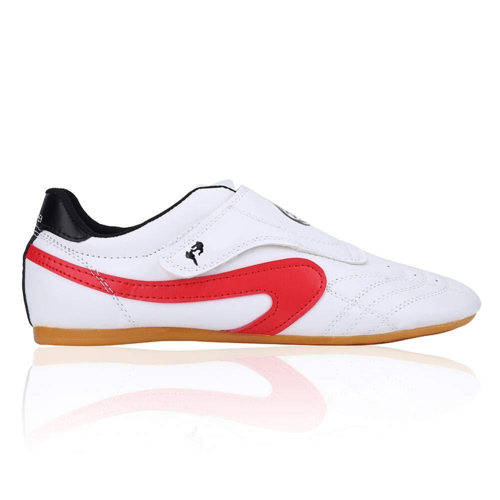 Alomejor Yanmeer Chaussures Taekwondo Sports Chaussures Arts Martiaux Antid/érapant L/éger Respirantes Comfortable Unisexe pour Hommes Femmes