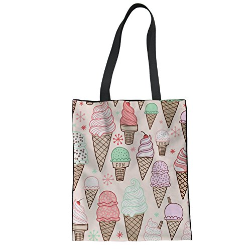 Casual Daily Women Canvas Tote Girls Beach Shopping Advocator Handbag Bag for Color Tote 5 Bags nx08qwWTR1