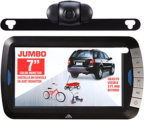 Peak PKC0BU7 Wireless 7-Inch Back-up Camera Kit
