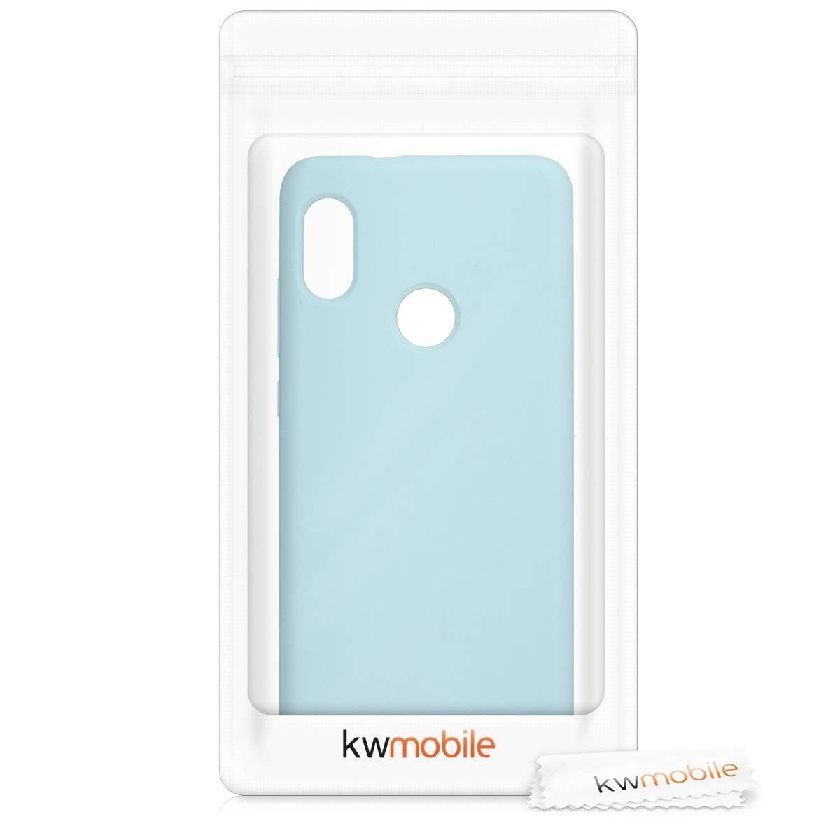 Housse de t/él/éphone en silicone noir mat Global Version kwmobile Coque Xiaomi Redmi Note 5 Coque pour Xiaomi Redmi Note 5 Global Version // Note 5 Pro // Note 5 Pro