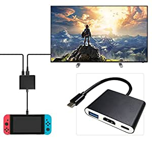 Amazon.com: Nintendo Switch HDMI Adapter, Type-C HDMI