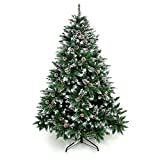 Artificial Christmas Tree 6,7 Foot Tree with Pine Cone Decoration  (Small Image)
