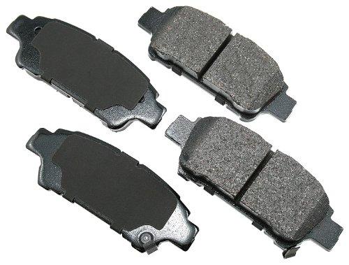 Akebono ACT995 ProACT Ultra-Premium Ceramic Rear Brake Pad Set For 2004-2010 Toyota -