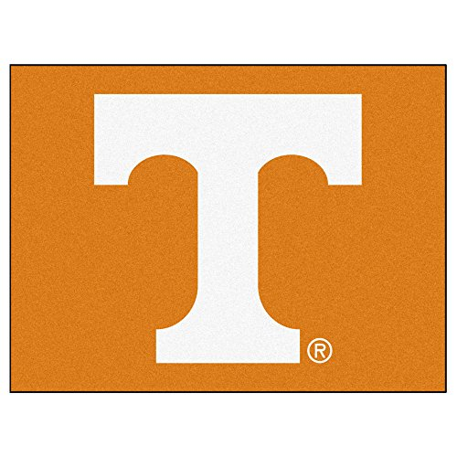 NCAA University of Tennessee Volunteers All Star Non-Skid Mat Rectangular Area Rug
