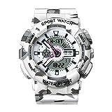 ❤VALENTINES GIFTS❤ Women' s Quartz Fashion Analog Digital Sport Wrist Watch, Waterproof Outdoor Watches for Ladies - White
