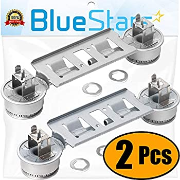 Ultra Durable WB16K10026 Double Burner Assembly Replacement Part by Blue Stars- Exact Fit for GE Kenmore Range- Replaces 868697 AP2633210 WB16K10003 - PACK ...