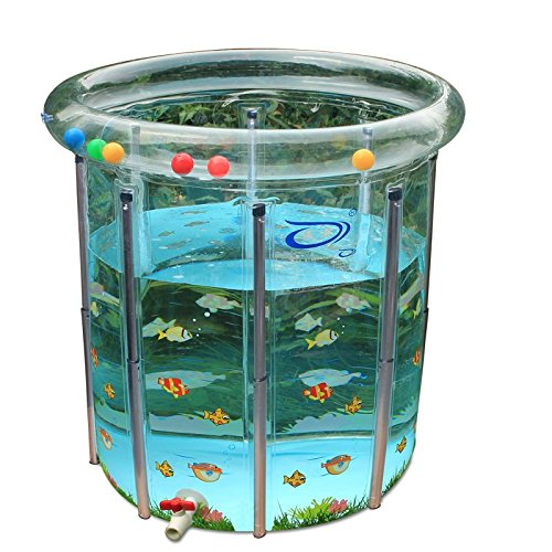 Transparent painting baby swimming pool/barrel by TYCGY