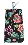 Vera Bradley Iconic Double Eye Case in Vines Floral
