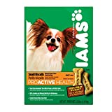 IAMS PROACTIVE HEALTH Adult Small Dog Biscuits Natural Chicken Flavor 2.6 Pounds (Pack of 6)