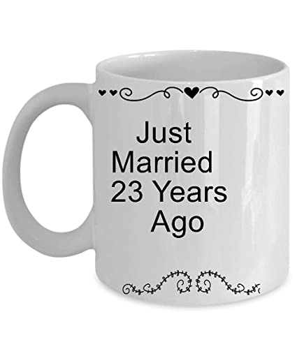 Amazon 23rd Wedding Anniversary Gifts For Her Him Men Women