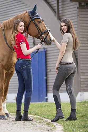 EQUIT'M Jean d'quitation Femme Equi-Theme Denim Vtements d'quitation Jeans