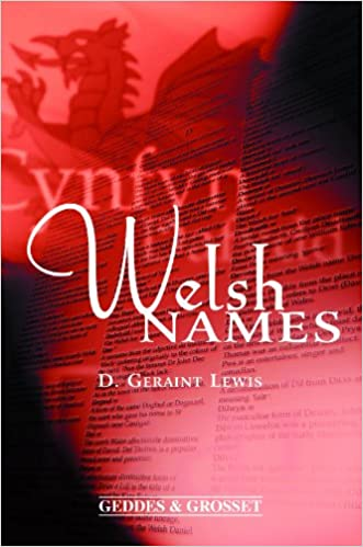 Book Welsh names