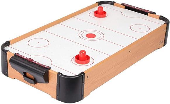 NUOBESTY Juegos de Hockey sobre Hielo de Mesa Juego de Mesa de Hockey de Aire Juguete Educativo para Niños Niña 2 Jugadores Color Aleatorio: Amazon.es: Juguetes y juegos