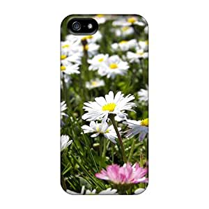 KvvMxJJ6615NwKCb Anti-scratch Case Cover MeSusges Protective Flower Summer Case For Iphone 5/5s