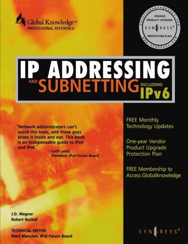 IP Addressing and Subnetting, Including -