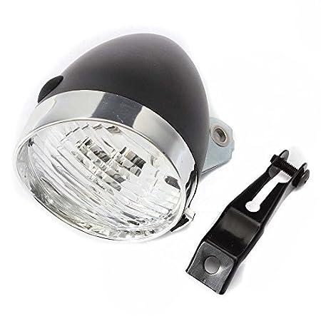 Arpoador 1 pc Retro para bicicleta 3 LED luz delantera para faros ...