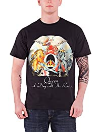 A Day At The Races New Official Mens Black T Shirt