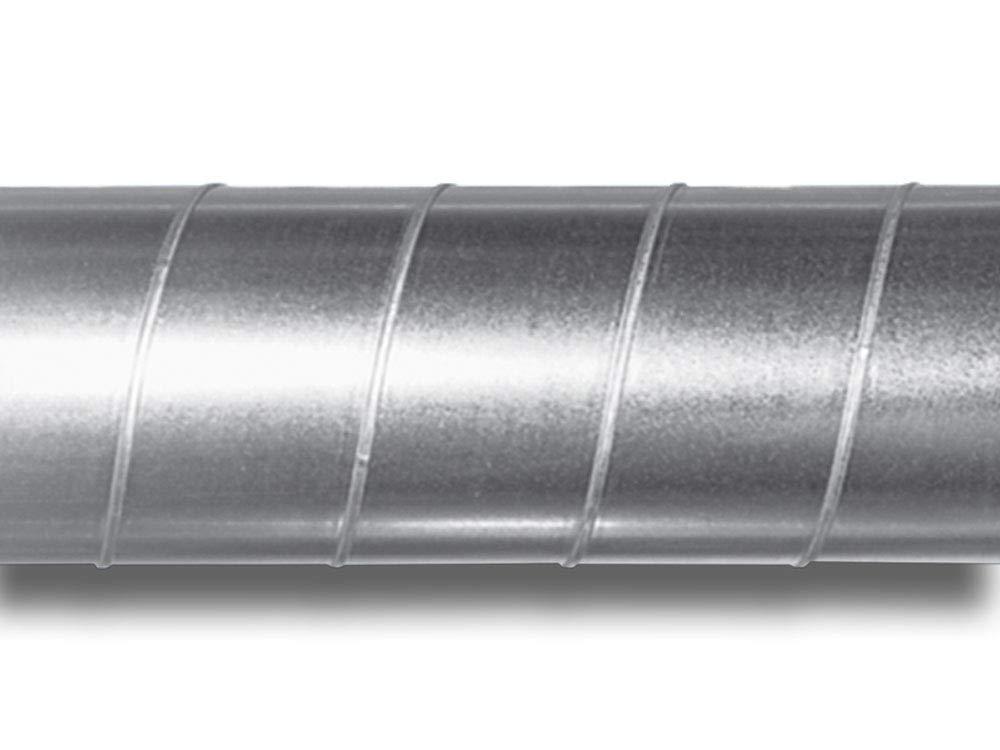 Tubo de acero galvanizado para ventilaci/ón 315, 1 m