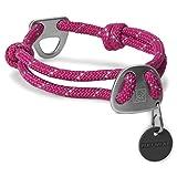 RUFFWEAR - Knot-a-Collar Rope Dog Collar, Purple Dusk, Medium
