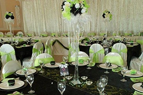 12 pcs Wedding Centerpiece Eiffel Tower VASE - 16