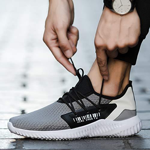 Acquista online LOVDRAM Scarpe da Uomo Nuove Scarpe da Uomo Primavera E Autunno Scarpe Casual in Mesh Traspirante Scarpe da Corsa Sportive Casual miglior prezzo offerta