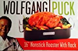 Wolfgang Puck 16'' Carbon Steel Nonstick Roaster and Rack