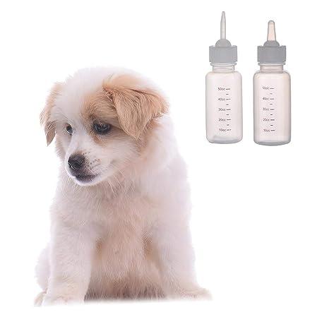 Dubleir Juego de biberones para Mascotas, Kit de alimentación Manual para Cachorros de Lactancia,