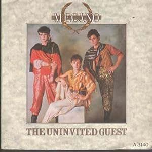 "Uninvited Guest 7 Inch (7"" Vinyl 45) UK Cbs 1982"