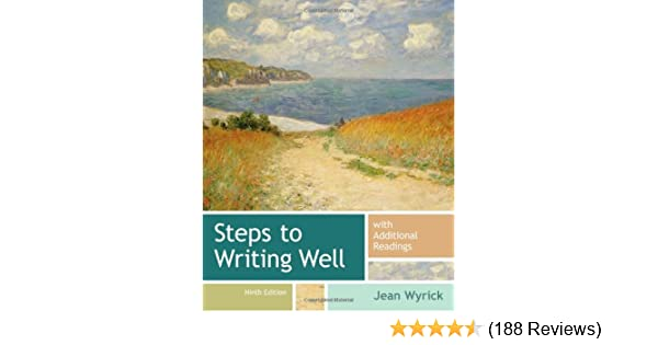 Amazon steps to writing well with additional readings amazon steps to writing well with additional readings 9781133311294 jean wyrick books fandeluxe Choice Image