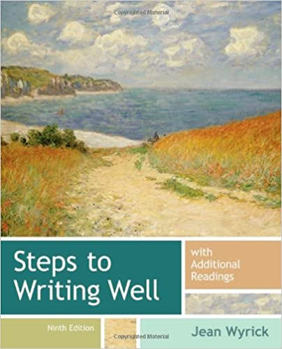 Book Steps to Writing Well with Additional Readings