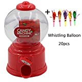 Birthday Party Mini Candy Machine Favor for kids and Whistle...