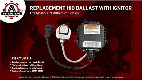 FACTORY OEM 03 04 05 06 07 08 09 Nissan 350Z Xenon HID Ballast Headlight Igniter