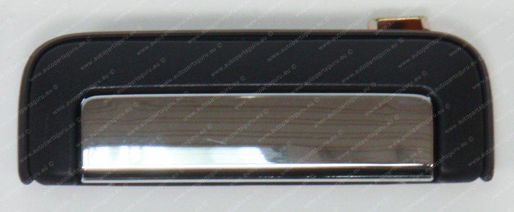 Maniglia esterna per portiera posteriore dell/'auto colore nero