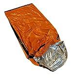 Sleeping Bag Emergency Aluminium Camping Outdoor Survival 84''x 36'' Mylar Duty