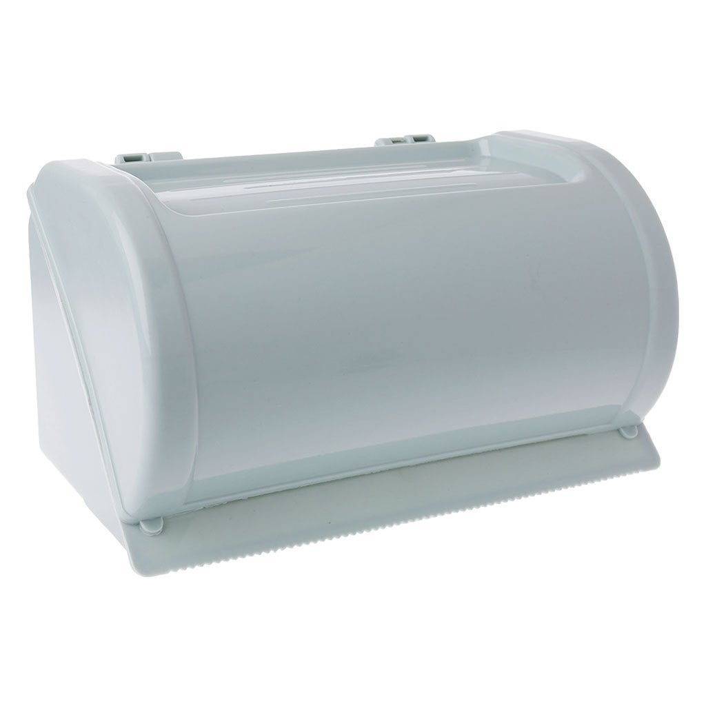 Tissue Holder Waterproof Toilet Paper Holder Tissue Roll Stand Box Rack Self Adhesive Bathroom Bathroom (Color : Pink)
