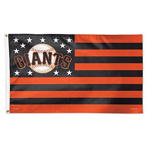 MLB San Francisco Giants 02502115 Deluxe Flag, 3' x 5'