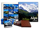 DA CHOCOLATE Cute Candy ALPS Chocolate Gift Set 5x5in 1 box (Mountains Prime)(0417)
