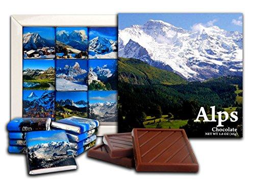 - DA CHOCOLATE Cute Candy ALPS Chocolate Gift Set 5x5in 1 box (mountains)