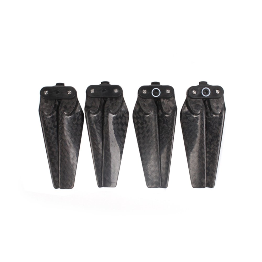 XCSOURCE 4Pcs 4730F Quick Release Propeller Carbon Fiber Foldable Blade Snap-on A/B Prop for DJI SPARK FPV Drone RC710