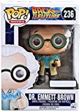 October 2015 Time Travel Exclusive Funko Pop #236 Back To The Future Dr. Emmet Brown Figurine by Pop